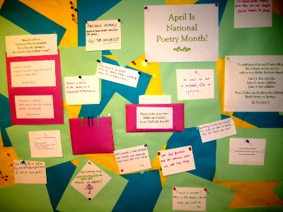 bulletin board haiku
