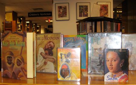 Selection of Jane Kurtz's books.