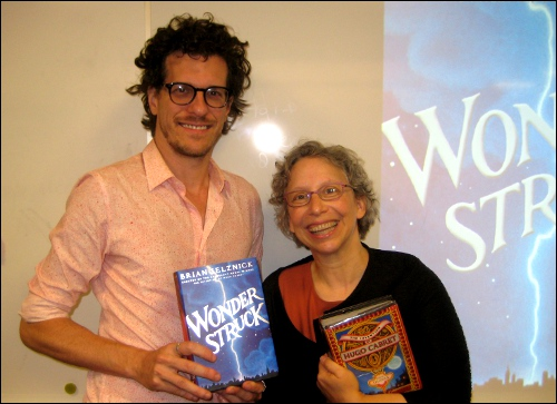 Brian Selznick and Lisa Von Drasek