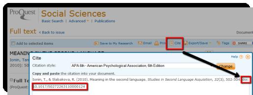 Studies in Second Language DOI