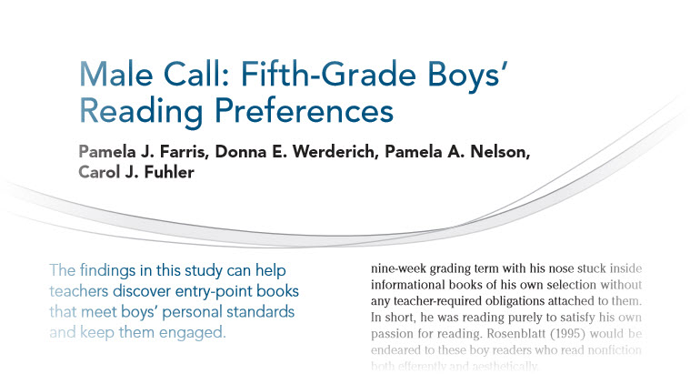 a report on the reading preferences This 2004 report examines the effects of advertising and product preferences affect children's product for a time length conducive to reading.