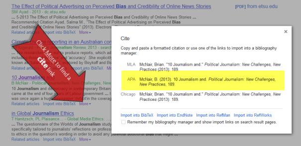 Google-Scholar-Cite