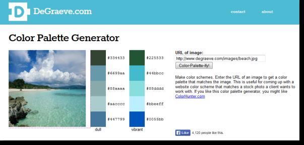 Color-palette-generator
