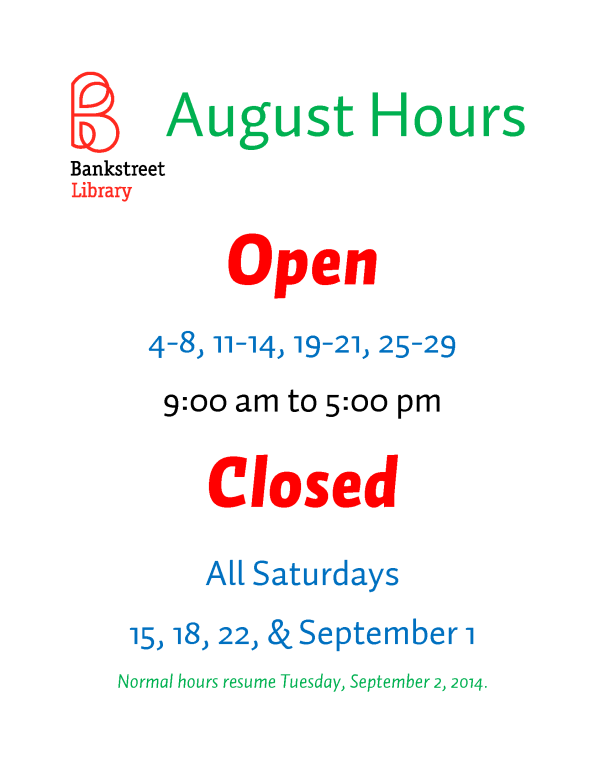 August Hours 2014 update2