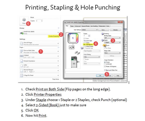 Printing-Stapling-Punching